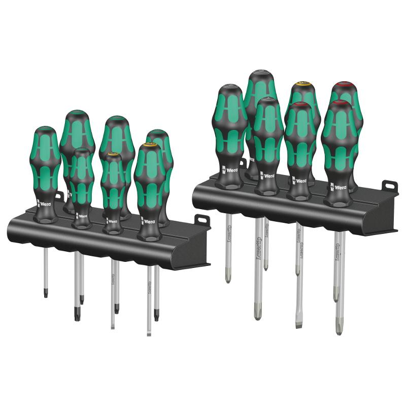Wera Kraftform 300 Series Screwdriver Sets