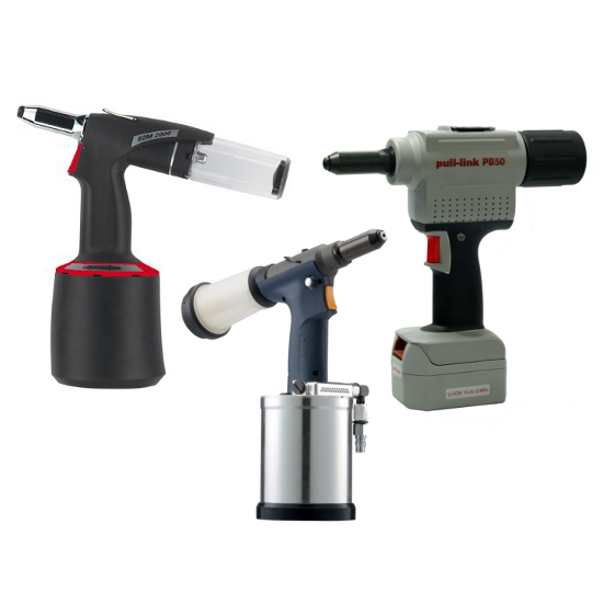 Pneumatic & Battery Riveting Tools