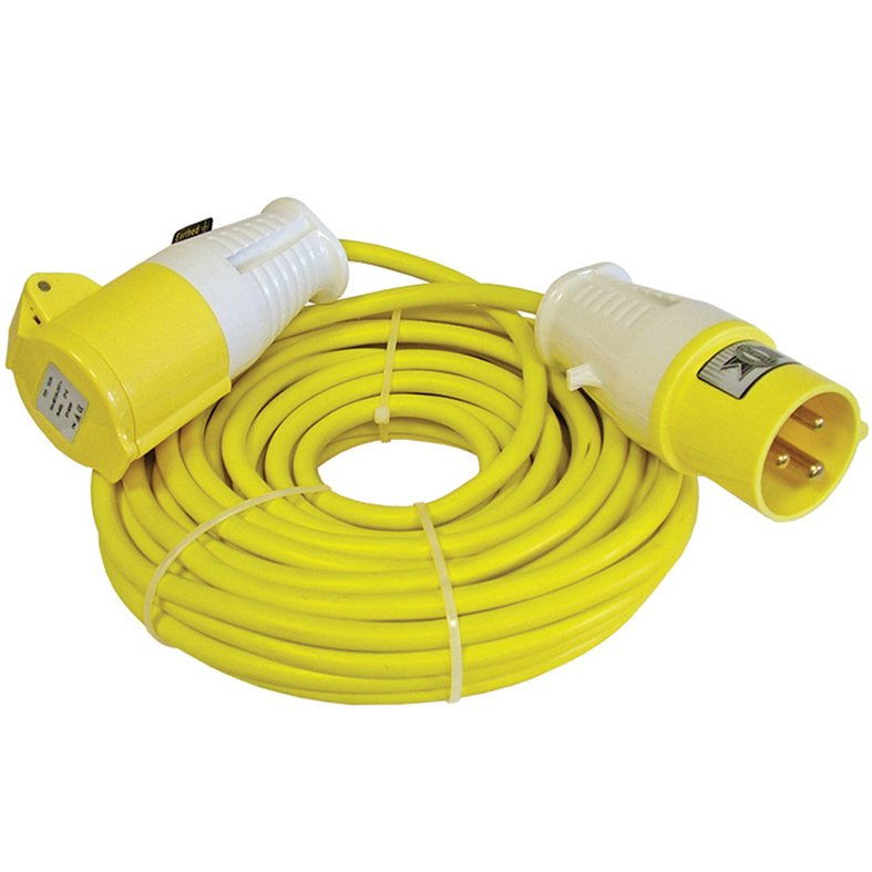 110 Volt Cable Reels and Extension Leads