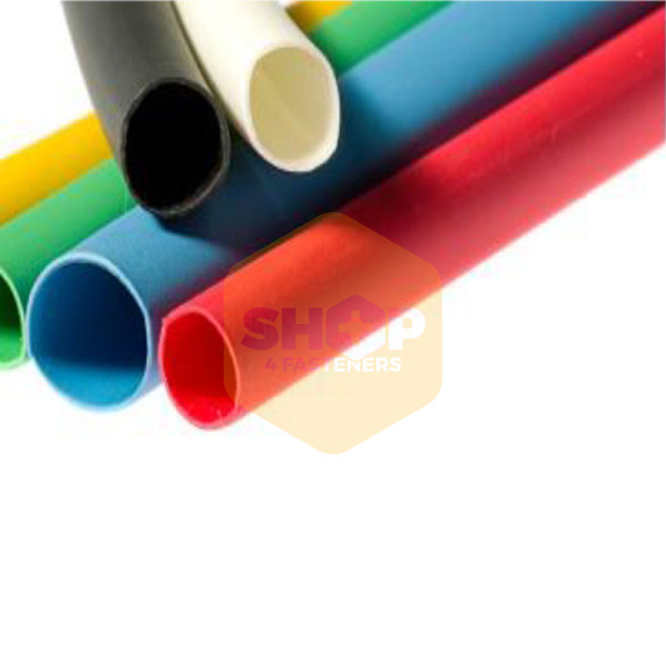 Heat Shrink Tubing 2:1 Large Reels - 50 8mm x 25m Yellow