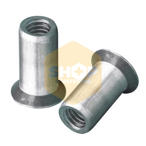 Steel Csk Head Open End Rivet Nut M8 X 18 5mm