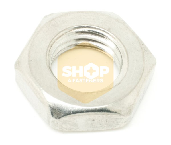 Hexagon Lock Nuts - Metric Stainless Steel A4
