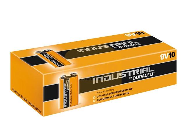 duracell inductrial 9 volt square alkaline batteries shop4fasteners. Black Bedroom Furniture Sets. Home Design Ideas