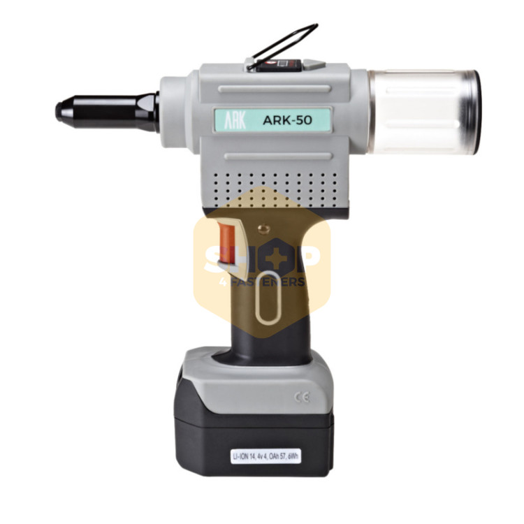 Ark 50 Battery Powered Tool For Blind Rivets Shop4fasteners
