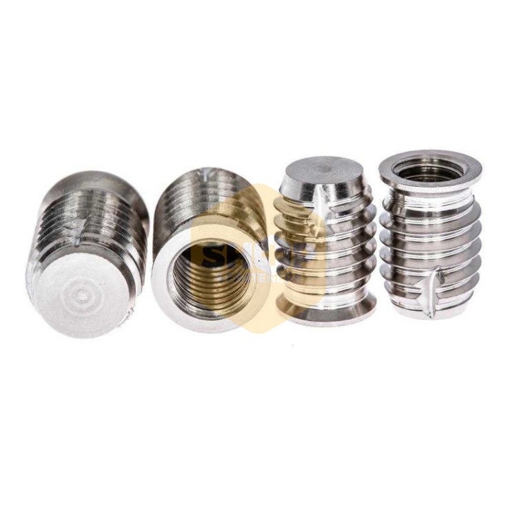 Blind self tapping threaded inserts marine grade a