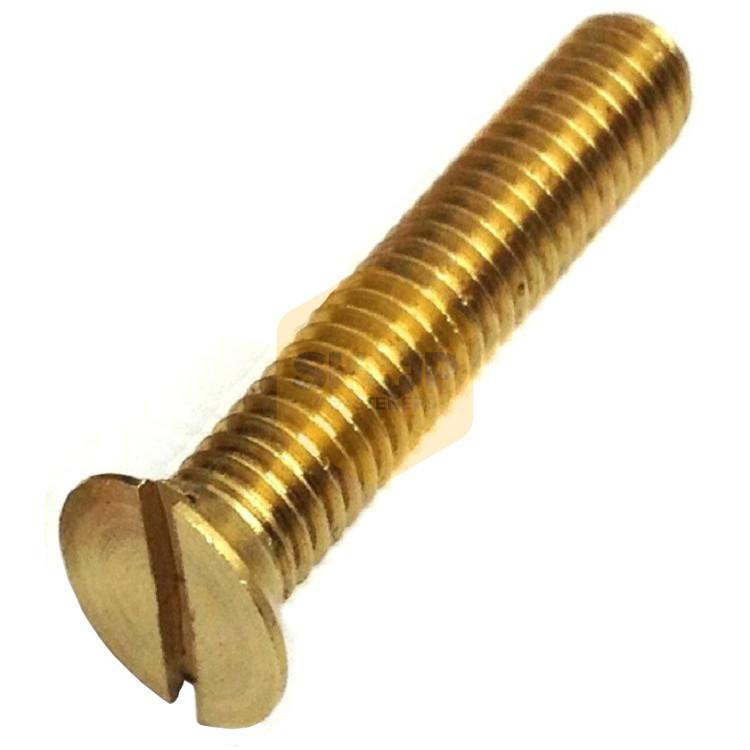 Brass Slotted Machine Screws