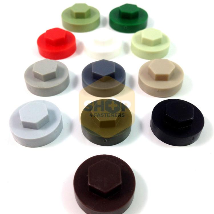 Tek screw coloured cover caps shop fasteners