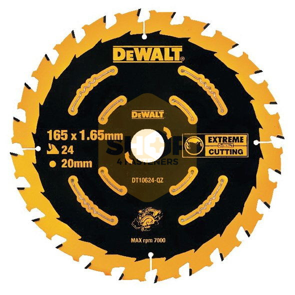 Dewalt Cordless Extreme Framing Blade 165mm Blades For