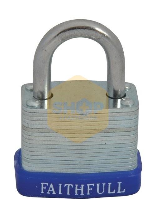 Faithfull Laminated Steel Padlocks Shop4fasteners