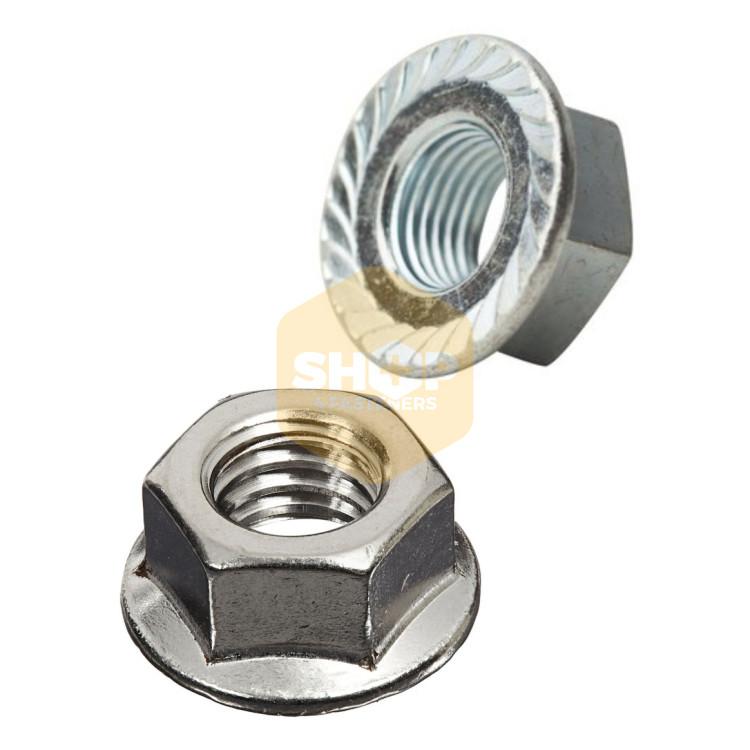 NYLOC NUTS 4mm 5mm 6mm 8mm 10mm 12mm 14mm 16mm 20mm NYLON INSERT LOCKING NUT BZP