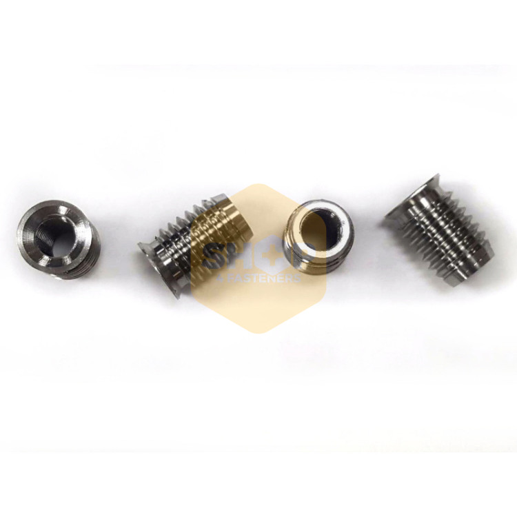 Insert nut threaded insert anchor for wood /& chipboard M6 x 20mm pack of 50