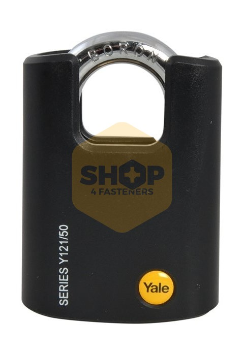 Yale Locks YALY12140 40 mm Brass Padlock Closed Shackle