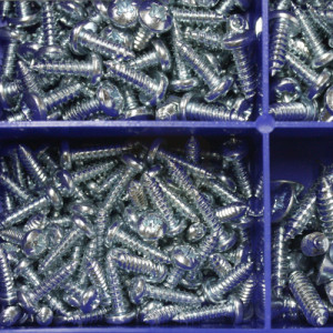 Self Tapping Screw Kit - 750pc (No.6 - No.10)