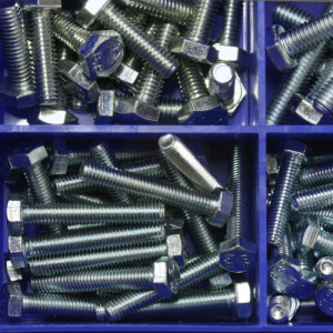 Hexagon Setscrews Kit (M4 - M10) - 250pc