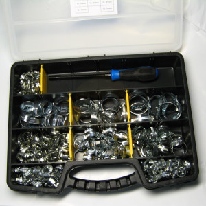 Hose Clip Workshop Kit - 143pc