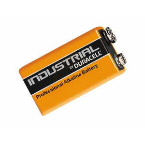 Industrial by Duracell 9 Volt Square Alkaline Batteries