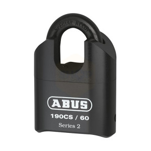 ABUS 190/60 60mm Combination Padlock Heavy-Duty Closed Shackle Carded