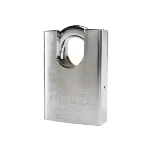 ABUS Rock Through Hardened Steel Padlock Closed Shackle