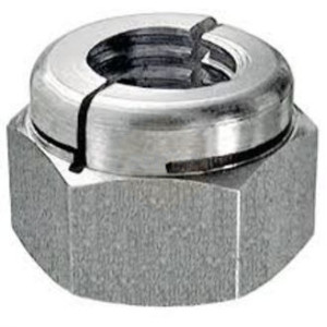 Aerotight Locking Nuts - Stainless Steel A1 (303)