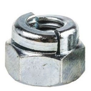 Aerotight Locking Nuts - Steel BZP