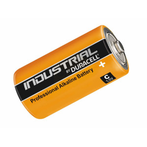 Industrial by Duracell C Cell Alkaline Batteries