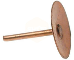 Copper Disc Rivet
