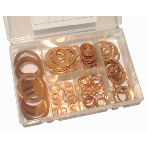 Copper Sealing Washer Kits - 120pc