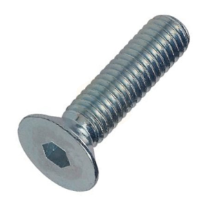 Socket Head Countersunk Screw - Zinc Plated
