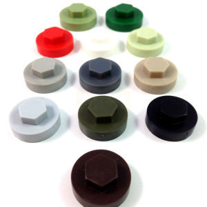 Tek Screw Coloured Cover Caps