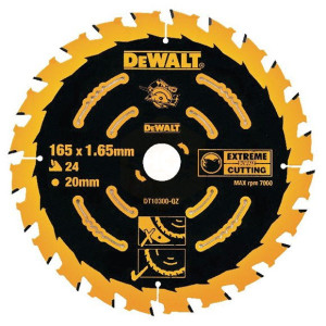 DeWalt Corded Extreme Framing Blades 165mm