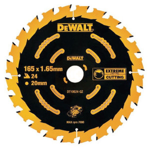 DeWalt Cordless Extreme Framing Blade 165mm
