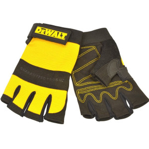 DeWalt 1/2 Synthetic Padded Leather Palm Gloves