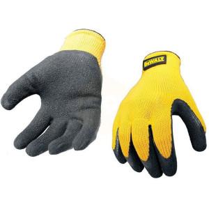 DeWalt Knit Back Latex Gloves