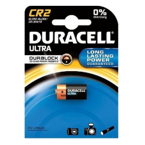 Duracell Ultra 3v CR2 Photo Lithium Batteries