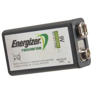 Energizer 9 Volt Rechargeable Power Plus Battery R9V 175 mAh - Single