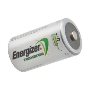 Energizer D Cell Rechargeable Power Plus Batteries RD2500 mAh