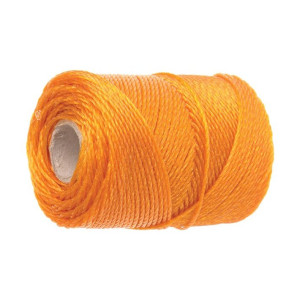 Faithfull 3100 Orange Polyethylene Brick Line 100m