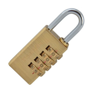 Faithfull Brass Combination Padlocks
