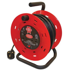 Open Drum Cable Reels - 13 Amp