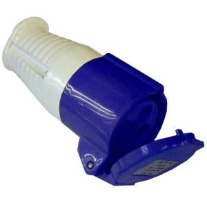 Blue Socket - 240 Volt - 16 Amp