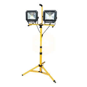 COB LED Twin Pod Tripod - 2800 Lumen - 40 Watt
