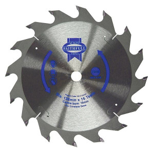 Faithfull Trim Saw Blades 136mm