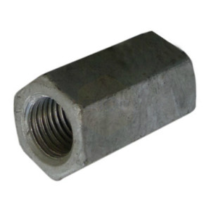 Hexagon Studding Connector Nuts - Galvanised