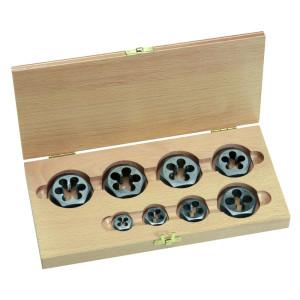 Hexagon Die Nut Sets in Wooden Box