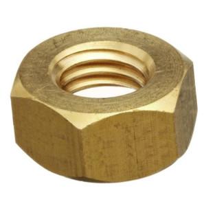 Hexagon Full Nuts - Metric Brass