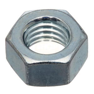 Hexagon Full Nuts Grade 10 - Metric BZP