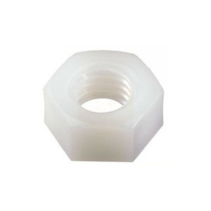 Hexagon Full Nuts - Metric Nylon