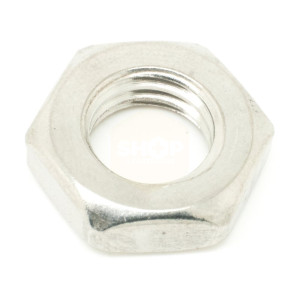 Hexagon Lock Nuts - Metric Stainless Steel A2