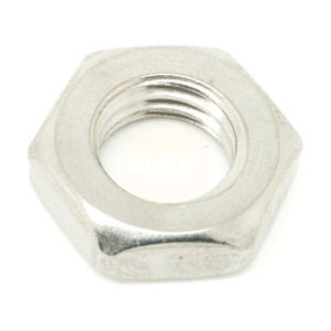 Hexagon Lock Nut - Metric Fine Pitch A4 Stainless
