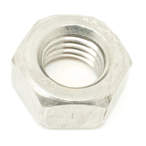 Hexagon Left Hand Full Nuts - Metric Stainless Steel A2